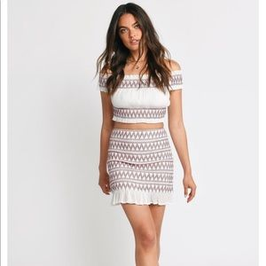 TOBI mini bodycon skirt